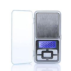 Nagy pontosságú Mini Elektronikus Digital Pocket Scale Ékszer tömegű Balance Portable 200g/0.01g
