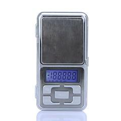 Nagy pontosságú Mini Elektronikus Digital Pocket Scale Ékszer tömegű Balance Portable 500g/0.1g