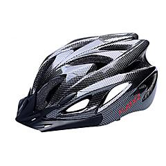 FJQXZ Kadın's Erkek Unisex Bisiklet Kask 18 Delikler Bisiklet Yol Bisikletçiliği Bisiklete biniciliği Orta: 55-59cm; Büyük: 59-63cm;