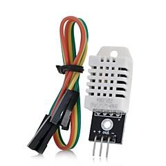 için diy dht22 2302 dijital sıcaklık ve nem sensörü modülü (arduino için)