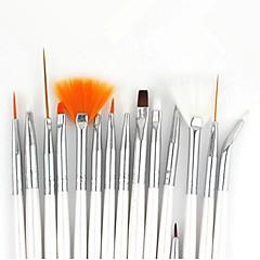 15st nagel konst målning pensel kit