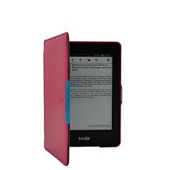 Tímido urso ™ cavalo louco caso capa de couro para Amazon Kindle Paperwhite 6 polegadas ebook
