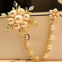 broszka moda perła śniegu