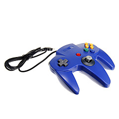 usb N64 controler PC-ul de design albastru