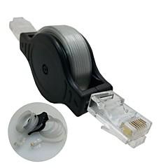 1,5 m chowany sieć Ethernet LAN RJ45 CAT5 net kabel kabel do PC Laptopy