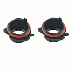 auto h7 HID xenon lamp head adapters stopcontacten zwarte voor BMW E39 5 serie 525i 528i 530i 540i (2 stuks)