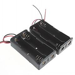 akkumulátor doboz 18650 elem (2db)