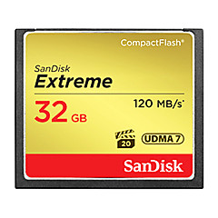SanDisk 32 GB Compact Flash  CF kártya Memóriakártya EXTREME 800X