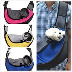 Kat Hond Dragers & Reistassen voorzijde Backpack Huisdieren manden draagbaar Ademend Geel Rood Groen Blauw