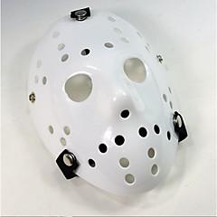 1pc Αποκριάτικες Μάσκες M Λευκό Πλαστικό