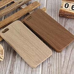 Kompatibilitás iPhone X iPhone 8 iPhone 8 Plus iPhone 5 tok tokok Minta Hátlap Case Fa mintázat Puha Hőre lágyuló poliuretán mert iPhone