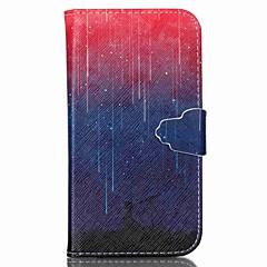 For Samsung Galaxy etui Pung Kortholder Med stativ Flip Etui Heldækkende Etui Landskab Kunstlæder for SamsungS6 S5 Mini S5 S4 Mini S4 S3