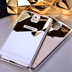 για το Samsung Galaxy note5 περίπτωση καθρέφτη TPU μαλακό ακρυλικό πίσω κάλυμμα σημείωση 3 note4 σημείωση 5