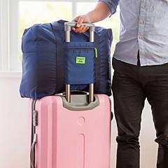 1개 여행 가방 정리함 방수 먼지 방지 폴더 휴대용 견고함 용 여행용 보관함 옥스포드 의류-블랙 다크 블루 레드 밝은 블루
