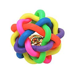 Zabawka dla kota Zabawka dla psa Zabawki dla zwierząt Owalne Zabawki do żucia Dzwonkowy Piłka Nobbly Wobbly Gumowy