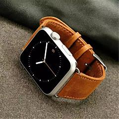 Banda de relogio para relógio de maçã 38mm Banda de substituição de couro de fivela clássica de 42mm