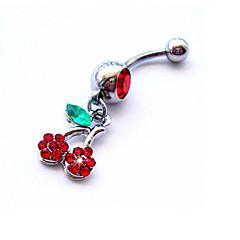Damskie Biżuteria Navel & Bell Button Rings Kryształ sztuczna Diament Unikalny Modny Biżuteria Tęczowy Biżuteria Codzienny Casual 1szt