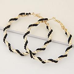 Dames Ring oorbellen Uniek ontwerp Modieus Europees Elegant Kostuum juwelen Hars Legering Cirkelvorm Sieraden Voor Feest Dagelijks Causaal