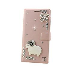 Varten Samsung Galaxy kotelo Korttikotelo / Paljetti / Flip Etui Kokonaan peittävä Etui Kiiltävä Kova Metalli SamsungGrand Max / Grand 2