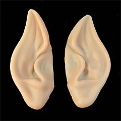 pvc νεράιδα Pixie ψεύτικο ξωτικό αυτιά Απόκριες μάσκα νέο κόμμα μάσκα τρομακτικό Απόκριες διακόσμηση μαλακό επισήμανε προσθετική αυτιά