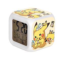 Saat/Kol Saati Esinlenen Pocket Monster PIKA PIKA Anime Cosplay Aksesuarları Saat/Kol Saati Sarı Reçine Erkek / Kadın