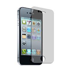 BUFF fire lag Ultimate Shock Absorption og ridsefast Screen Protector med mikrofiberkluden til iPhone 4/4S