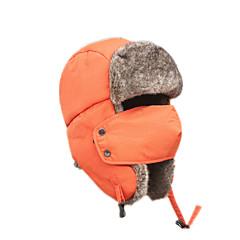 귀덮개 모자 털/모피 모자 스키 모자 여성용 남성용 보온 스노우보드 폴리에스터 스키 캠핑 & 하이킹 스노우스포츠 다운힐 겨울