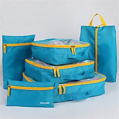 utazótáska szett hat koreai többfunkciós cipő táska táska táska befejező ruhák