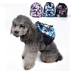 كلب حزمة الكلب حيوانات أليفة حاملات المحمول تمويه أخضر أزرق زهري