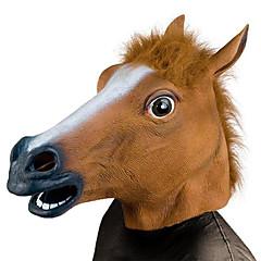 Αποκριάτικες Μάσκες Αντικείμενα για Χάλοουιν Μάσκα ζώο Απόκριες παιχνίδια Κεφάλι αλόγου Θέμα φρίκης