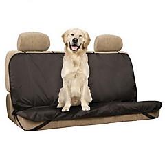 كلب سيارة مقعد الغطاء حيوانات أليفة الحصير والوسادات جامد مقاوم للماء قابلة للطى أسود