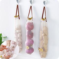 élelmiszer tároló zsák tároló zsák hálószerű hordozható konyhai kellékek