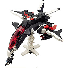 액션 피규어&인형 조립식 블럭 선물 조립식 블럭 전사 파이터 로봇 5 - 7 세 8 - 13 세 14세이상 장난감