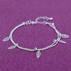 Dame Brățară Gleznă/Brățări Argilă La modă Leaf Shape Bijuterii Pentru Zilnic Casual