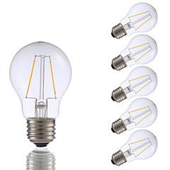 2W E26 Żarówka dekoracyjna LED A17 2 COB 200 lm Ciepła biel Ściemniana AC 110-130 V 6 sztuk