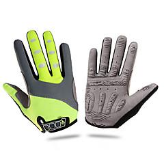 LUOKE® Rękawiczki sportowe Wszystko Cyklistické rukavice Zima Rękawice roweroweKeep Warm / Anti-zrywka / Wstrząsoodporny / Wearproof /