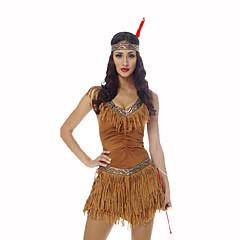 Γιορτές/Διακοπές Κοστούμια Halloween Κίτρινο Στάμπα Φόρεμα Καλύμματα Κεφαλής Halloween Χριστούγεννα Απόκριες Oktoberfest Η Μέρα των