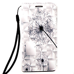 For samsung galaxy note 4 note 5 pokrowiec na marmur dandelion wzór 3d relief pup materiał na telefon przypadku
