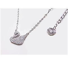 Γυναικεία Κρεμαστό / Ασήμι Στερλίνας Στρας Μοντέρνα Ασημί Κοσμήματα Καθημερινά Causal 1pc
