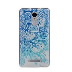 Til xiaomi redmi note 3 case cover mandala mønster bagcover soft tpu