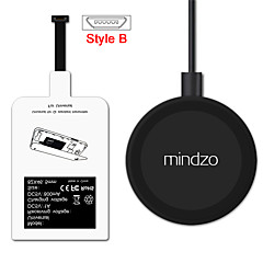 Kit de încărcare fără fir al receptorului adaptor pentru încărcător receptor bobina pad de Android stil b pentru toate micro USB stil b