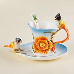 Najnowsze akcesoria do napojów Filiżanki do herbaty Kieliszki do wina Butelki na wodę Kubki do kawy 1 PC Ceramiczny, -  Wysoka jakość
