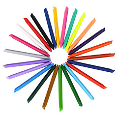 24 väriä muovi värikynät 1 sarja 24 kpl