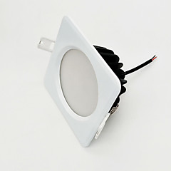 ZDM 9W Dimbare 800-850lm IP65 waterproof wit vierkant led lamp dimmen AC220V