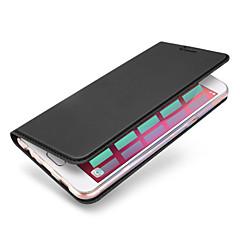 Voor Kaarthouder Flip Magnetisch hoesje Volledige behuizing hoesje Effen kleur Hard PU-leer voor SamsungJ7 (2016) J7 Prime J5 (2016) J5