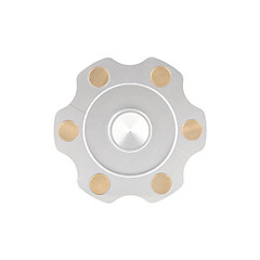 Dikkat Çarkları El iplik makinesi Oyuncaklar Ring Spinner Metal EDC Stres ve Anksiyete Rölyef Ofis Masası Oyuncakları Öldürme Süresi için