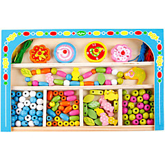 DIY 키트 조립식 블럭 교육용 장난감 선물 조립식 블럭 나무 2 - 4 세 5 - 7 세 장난감