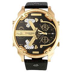 Męskie Sportowy Wojskowy Do sukni/garnituru Modny Zegarek na bransoletce Unikalne Kreatywne Watch Na codzień Zegarek na nadgarstek