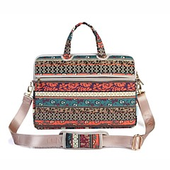 13.3 14.1 15.6 ιντσών τσάντα ώμου για φορητό υπολογιστή με τσάντα ρετρό μποέμ με τσάντα χειρός για επιφάνεια / dell / hp / samsung / sony