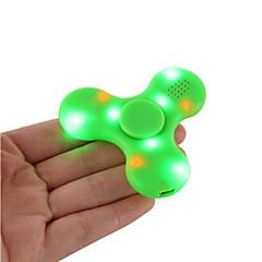 Dikkat Çarkları El iplik makinesi Oyuncaklar Tri-Spinner Plastik EDCBluetooth Hoparlörü Öldürme Süresi için Odak Çal ADD, DEHB,